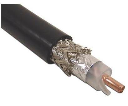 Cable Coaxial De Baja P 233 Rdida De 50 Ohm R G8 U Belden 9913