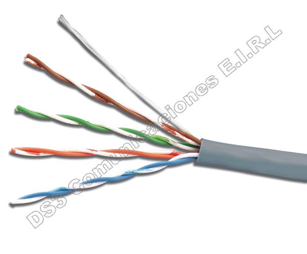Cable utp multi conductor categor a 5e belden no for Cable para internet precio por metro