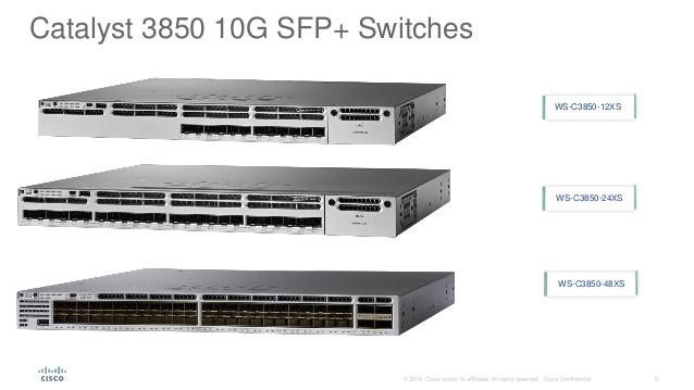 Ws C3850 24xs S Switch Administrable Capa L3 Cisco