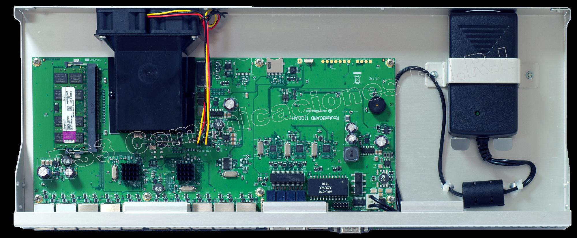 Routerboard Con 13 Puertos Gigabit Ethernet Mikrotik